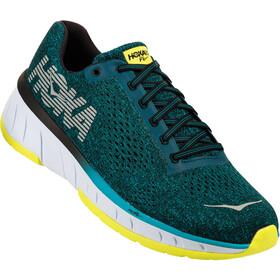 Hoka One One M's Cavu Running Shoes caribbean sea/black